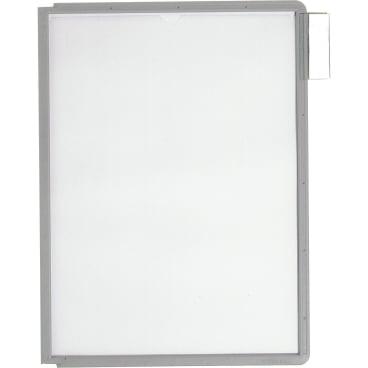 DURABLE Sherpa® Panel A4 Info-Rahmen 1 Packung = 5 Stück, Farbe: grau