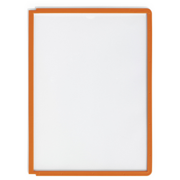 DURABLE SHERPA® PANEL A4 Info-Rahmen 1 Packung = 5 Stück, Farbe: orange