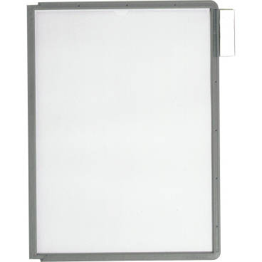 DURABLE SHERPA® PANEL A4 Info-Rahmen 1 Packung = 5 Stück, Farbe: graphit