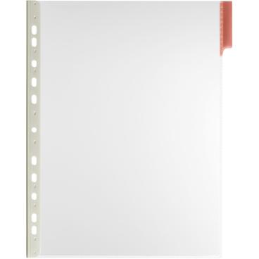 DURABLE FUNCTION A4 Sichttafel 1 Packung = 5 Stück, Farbe: rot