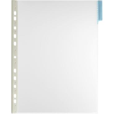 DURABLE FUNCTION A4 Sichttafel 1 Packung = 5 Stück, Farbe: blau
