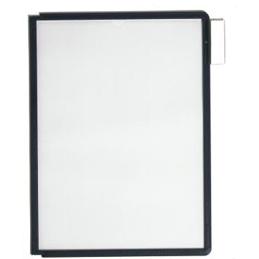 DURABLE SHERPA® PANEL A4 Info-Rahmen 1 Packung = 5 Stück, Farbe: schwarz