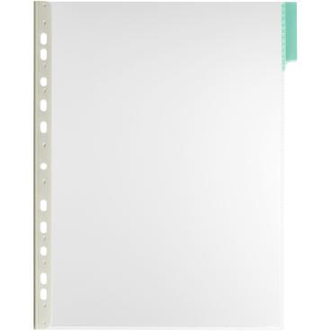 DURABLE FUNCTION A4 Sichttafel 1 Packung = 5 Stück, Farbe: grün