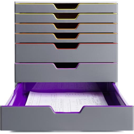 DURABLE Varicolor® 7 Schubladenbox