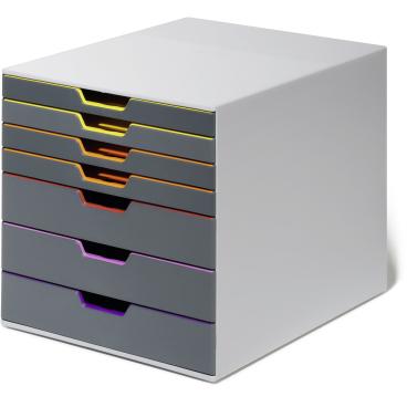 DURABLE Varicolor® 7 Schubladenbox Farbe: farbiger Ablauf / Verlauf