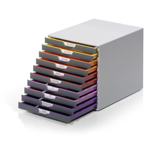 DURABLE Varicolor® 10 Schubladenbox