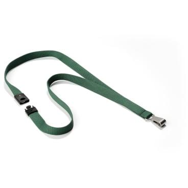 DURABLE Textilband SOFT COLOUR 1 Packung = 10 Stück, Farbe: petrol/dunkelgrün