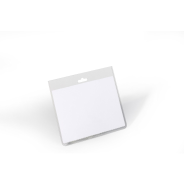 DURABLE Namensschilderhülle, 60 x 90 mm 1 Packung = 20 Stück, Farbe: transparent