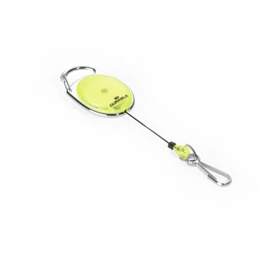 DURABLE JOJO STYLE Ausweishalter mit Federhaken Farbe: gelb