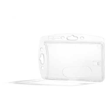 DURABLE Hartbox für 1 Betriebsausweis 1 Packung = 10 Stück, Innenmaße: 54 x 87 mm