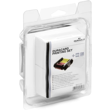 DURABLE Duracard Kartendrucker Printing Set