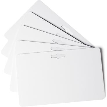 DURABLE DURACARD PUNCHED CARDS Plastikkarten 1 Packung = 100 Stück