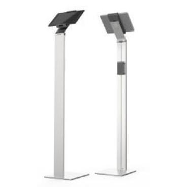 DURABLE TABLET HOLDER FLOOR Tablet Bodenständer Farbe: metallic silber