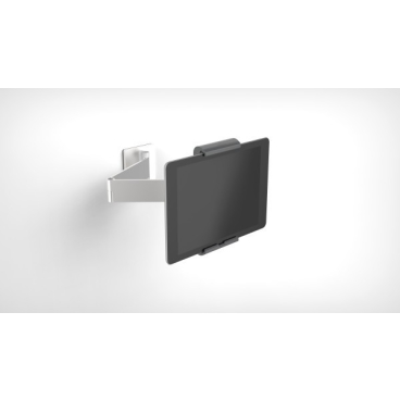 DURABLE TABLET HOLDER WALL ARM Tablet Wandhalterung Farbe: metallic silber
