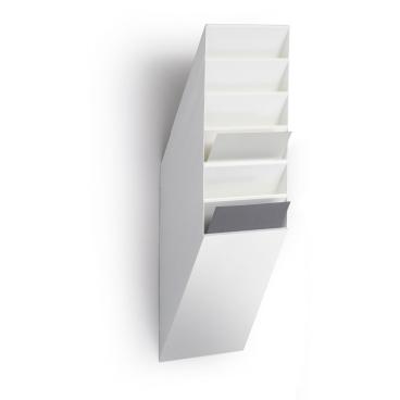 DURABLE FLEXIBOXX 6 A4 Prospektspender-Set 1 Set = 6 Prospektspender, Farbe: weiß