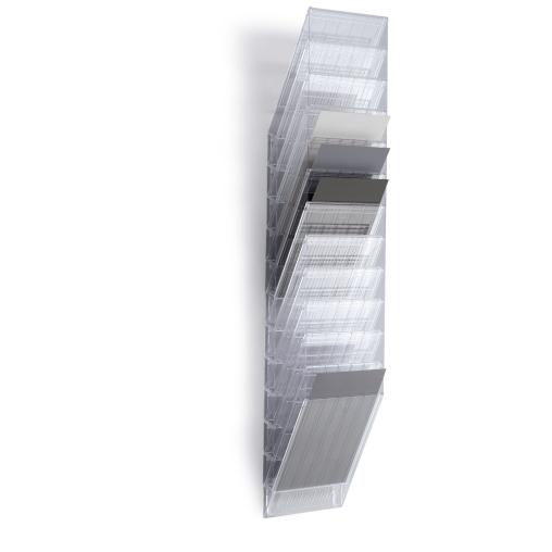 DURABLE Flexiboxx 12 A4 Prospektspender-Set