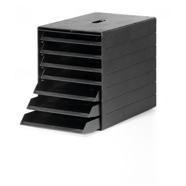 DURABLE IDEALBOX PLUS Schubladenbox Maße: 250 x 322 x 365 mm, Farbe: schwarz