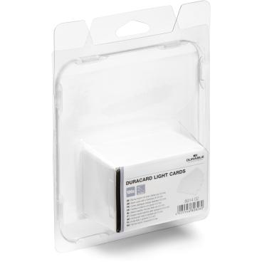 DURABLE DURACARD LIGHT CARDS Plastikkarten 1 Packung = 100 Stück