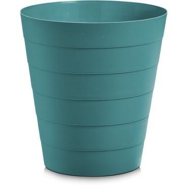 Zeller Abfalleimer, Kunststoff Fassungsvermögen: 8,8 Liter, Farbe: blau