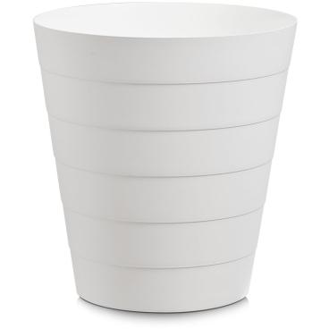 Zeller Abfalleimer, Kunststoff Fassungsvermögen: 13,5 Liter, Farbe: weiß
