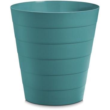 Zeller Abfalleimer, Kunststoff Fassungsvermögen: 13,5 Liter, Farbe: blau