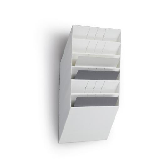 DURABLE Flexiboxx 6 A4 Prospektspender-Set