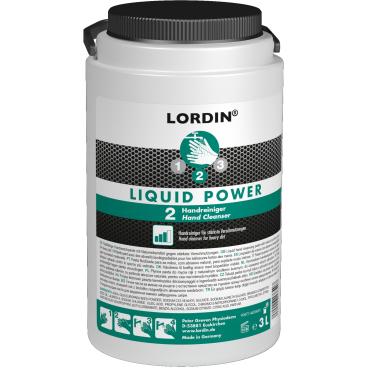 LORDIN® LIQUID POWER Handwaschpaste 3 l - PE - Dose