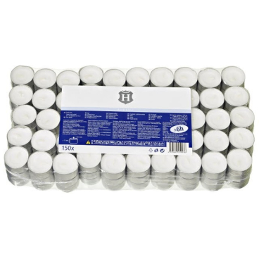 H-Line Teelichter 1 Packung = 150 Stück