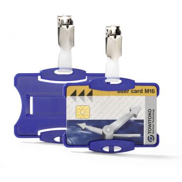 DURABLE Ausweishalter mit Clip für einen Betriebsausweis