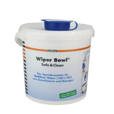 Wiper Bowl Safe & Clean Spendereimer groß für Multitex DR und RD