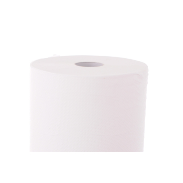 zetMedica® Ärzterollen Tissue, weiß, 2-lagig 1 Karton = 6 Rollen; Breite: 50 cm
