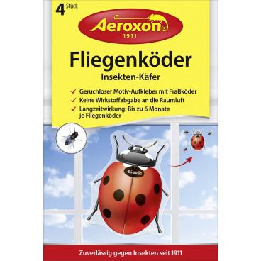 Aeroxon® Fliegenköder Insekten-Käfer 1 Packung = 4 Stück