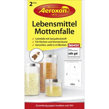 Aeroxon® Lebensmittelmotten-Falle 1 Packung = 2 Stück