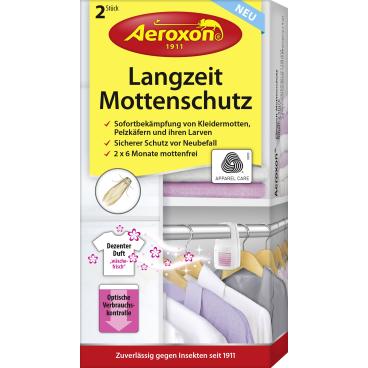 Aeroxon® Langzeit-Mottenschutz 1 Packung = 2 Stück