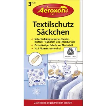 Aeroxon® Textilschutz Säckchen 1 Packung = 3 Säckchen