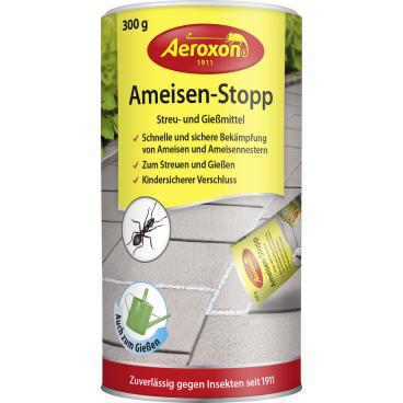 Aeroxon® Ameisen-Stopp Streu- und Gießmittel 300 g - Dose