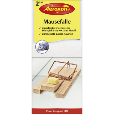 Aeroxon® Mausefalle 1 Packung = 2 Fallen