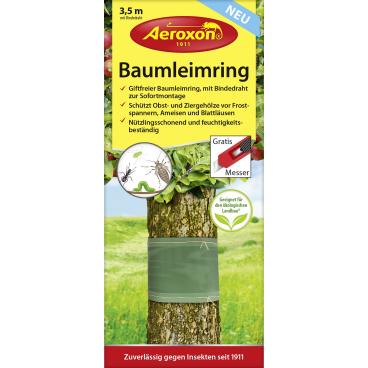 Aeroxon® Baumleimringe 3,5 m Insektenschutz 1 Packung = 3,5 Meter mit Bindedraht