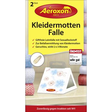 Aeroxon® Kleidermotten-Falle 1 Packung = 2 Stück