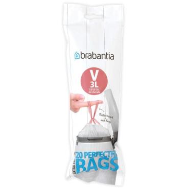Brabantia (V) Müllbeutel, 3 Liter