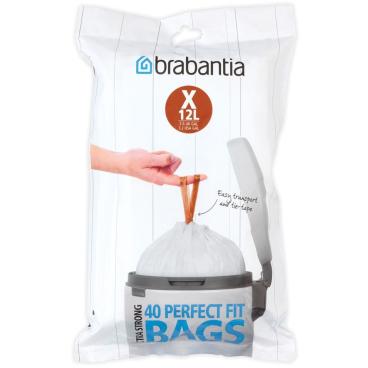 Brabantia (X) Müllbeutel, 12 Liter