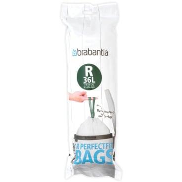 Brabantia Müllbeutel 36 l (R) 1 Karton = 12 Rollen à 10 Stück = 120 Stück