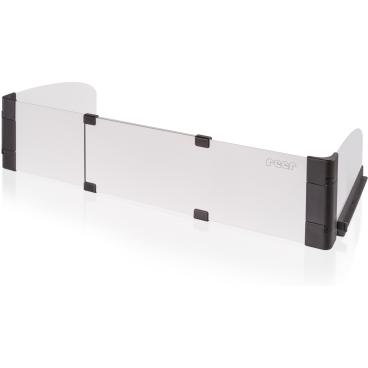 reer SimplySafe Herdschutzgitter Ausziehbare Länge: 55 - 65 cm, Höhe: 12 cm