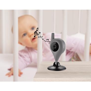 reer Mix&Match Cam Video-Babyphone 1x Babyeinheit & 1x USB-Kabel mit Adapter
