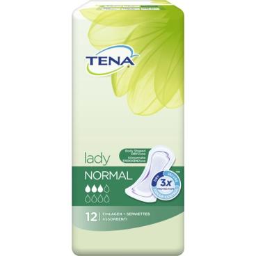 TENA Lady Normal Inkontinenzeinlagen 1 Karton = 6 x 12 Stück = 72 Stück
