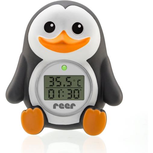 reer Digitales Badethermometer Pinguin