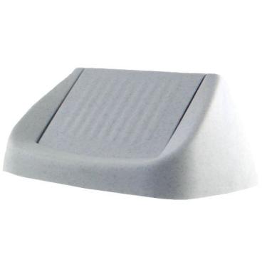 Bekaform Ersatz-Schwingdeckel, granit Für 50 Liter Eimer
