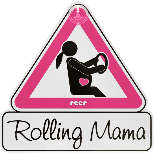 "reer MommyLine Autoschild ""Rolling Mama"""