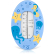 reer Badethermometer Unterwasserwelt Farbe: blau