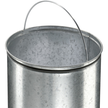 Hailo Pure L Tret-Abfallsammler, 25 l Edelstahl